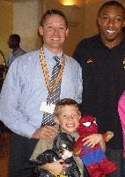 ERIC BERRY #1 Draft Pick with Jay & Jack Holgate